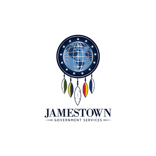 IT logo with the title 'Jamestown Government Services'