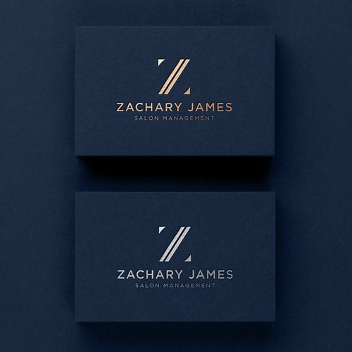 Z logo with the title 'Zachary James'