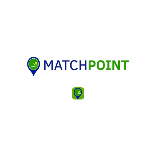 Match design with the title 'MatchPoint Logo/Icon Design Entry'