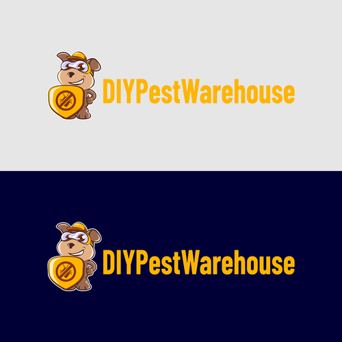 Pest control logo with the title 'DIYPestWarehouse'
