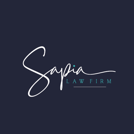 Friendly brand with the title 'sapia law firm'