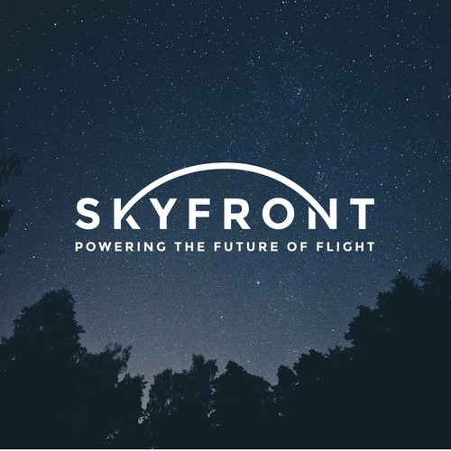 Universe logo with the title 'SkyFront'
