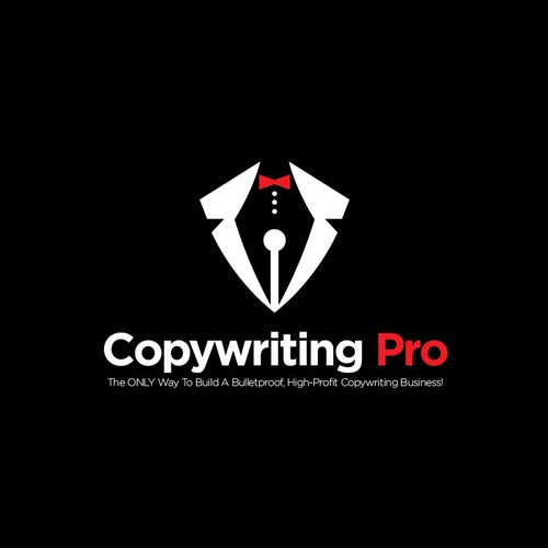 Copywriting logo with the title 'copy writing'