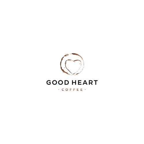 Good logo with the title 'Good Heart Coffee'
