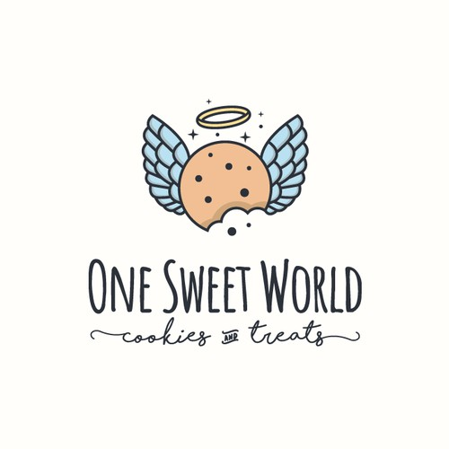 Bakery logo with the title 'Logo design for home bakery'