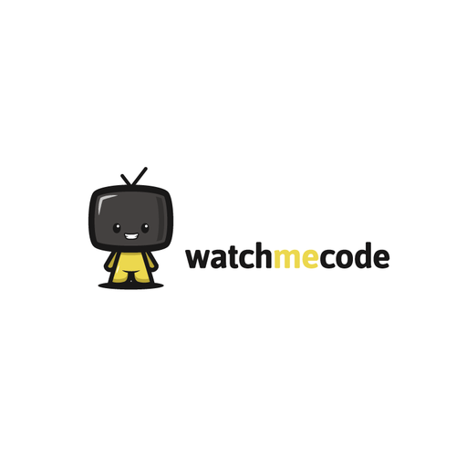 Mouse logo with the title 'Show the benefits of learning from an expert software developer at WatchMeCode'