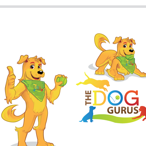 Guru design with the title 'DOG GURUS'