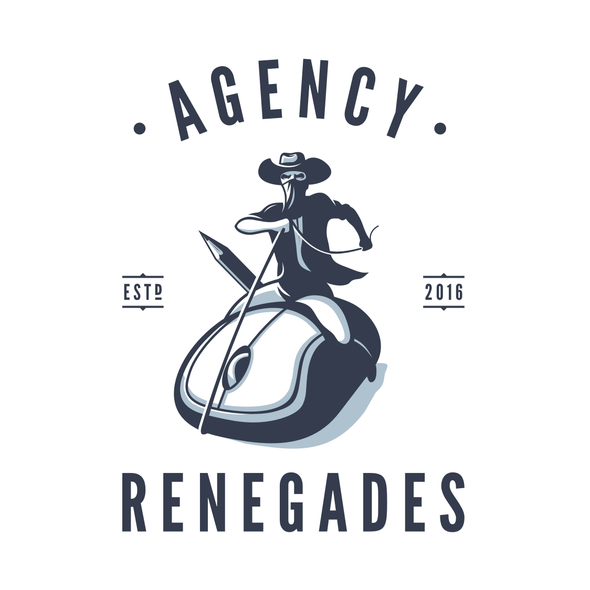Outlaw design with the title 'agency renegades'