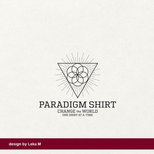 Shirt logo with the title 'Paradigm Shirt'