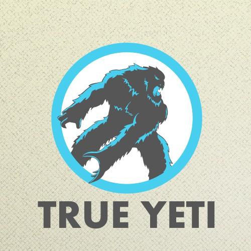 Loud logo with the title 'True Yeti Logo'