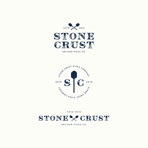 Artisan logo with the title 'Stone Crust '
