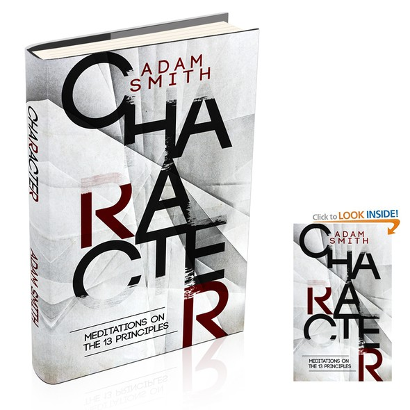 Paperback design with the title 'Character'