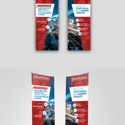 Financial - Pull Up Banner