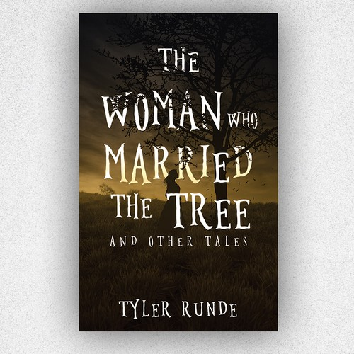 Young adult book cover with the title 'The Woman Who Married The Tree'