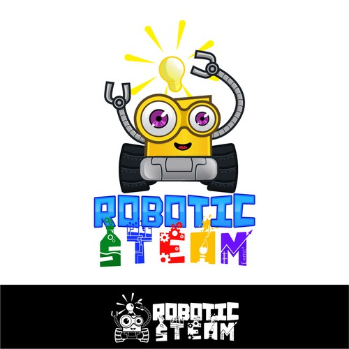 Robot logo with the title 'Robotic Steam'