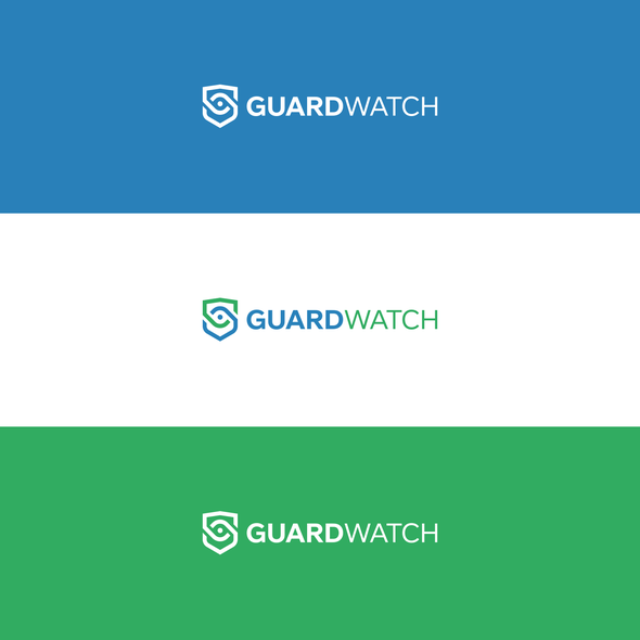 Guard logo with the title 'Simple, bold design for security guard management we and mobile app'