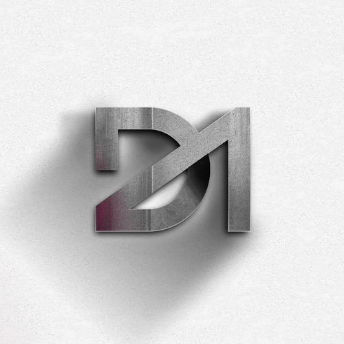 Pictogram logo with the title 'DA'
