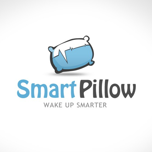 Pillow logo with the title 'Smart Pillow logo'
