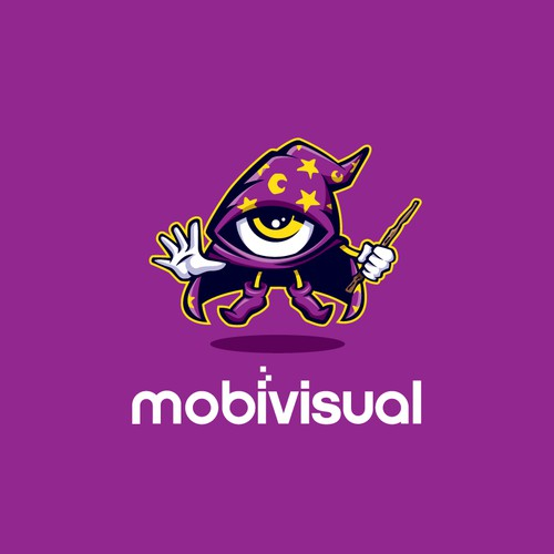 Magician logo with the title 'mobivisual 1-1 project'