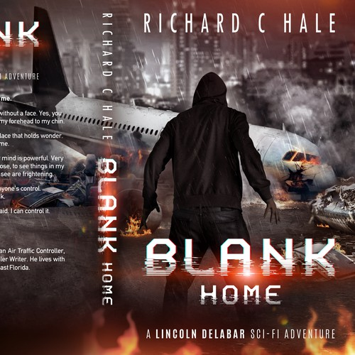 Dark design with the title 'Blank: Home'