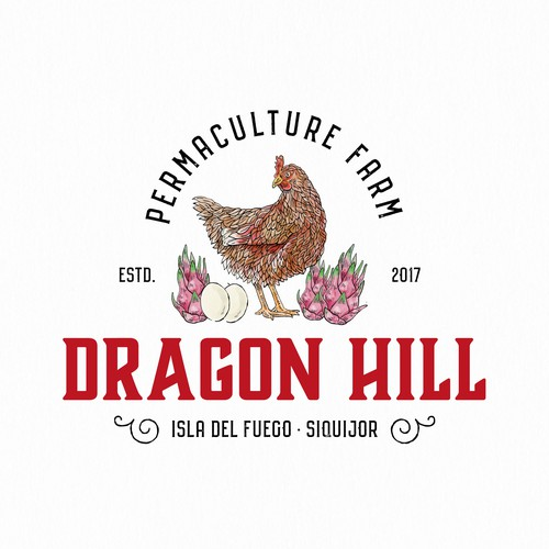 Egg design with the title 'Unused logo concept for a farm ...'