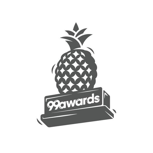 Award design with the title 'Logo re-design for prestigious awarding event on 99d '