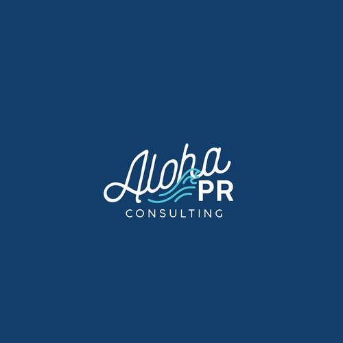 Aloha design with the title 'Tropical Laid Back Concept '