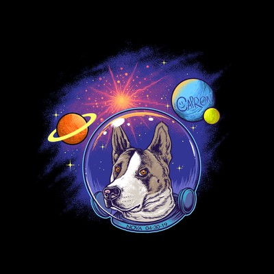 Nova the space dog