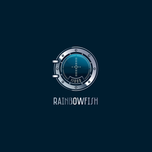 Submarine logo with the title '*Get your work featured on Milan World Expo!* - Logo design for an Ocean Tech Company'
