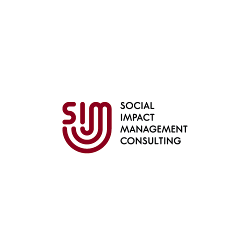 Impactful logo with the title 'SIM (Social Impact Management)'