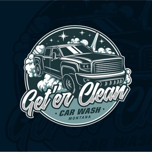 carwash logos: the best carwash logo images | 99designs  99designs