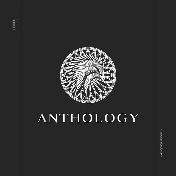 Lifestyle brand with the title 'Mythical meets sacred for Anthology Cannabis'