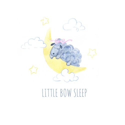 Sleep design with the title 'Logo for Sleep Product Company'