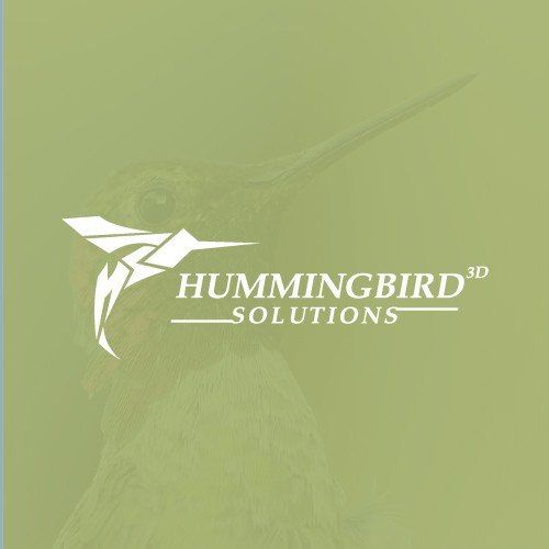 Fast design with the title 'Logo for Hummingbird Solutions'