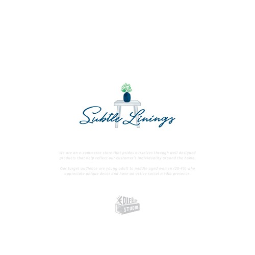 Homeware logo with the title 'Logo design for a home decor company'