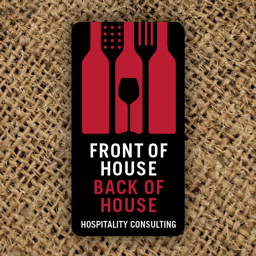 Hospitality design with the title 'Create a logo to represent a successful wine, food and hospitality consultant'