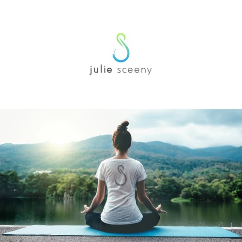 Fitness design with the title 'Julie Sceeny Logo'