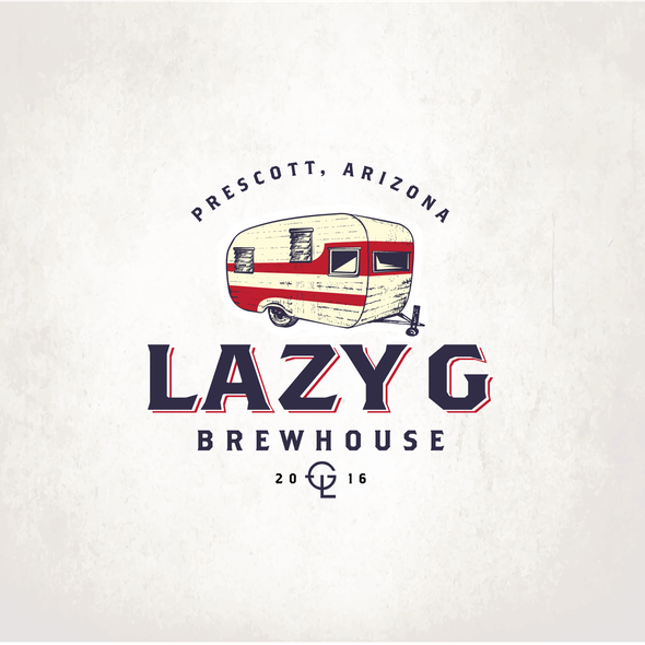 Trailer logo with the title 'Lazy G'