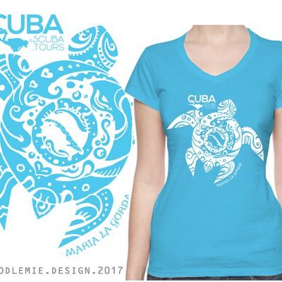 Design T-shirt for Scuba Divers in CUBA