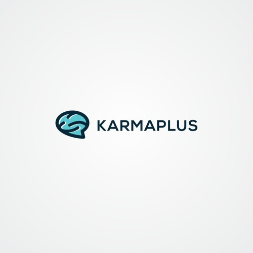 Bubble logo with the title 'Karmaplus'