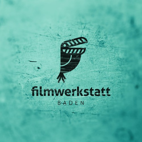 Filmmaker logo with the title 'Filmwerkstatt Baden'