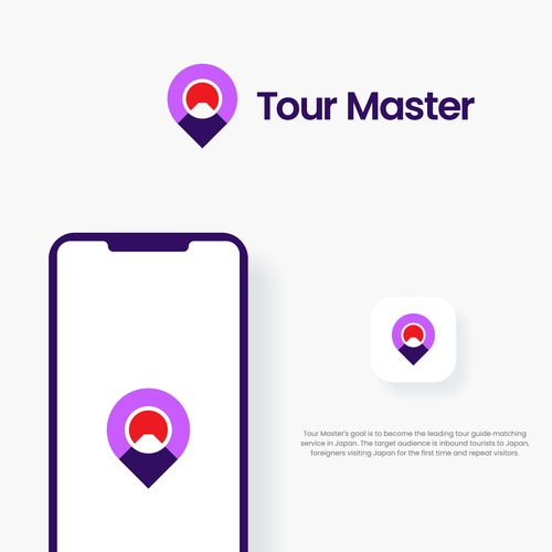 Tour design with the title 'TourMaster'