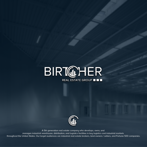 """Broker logo with the title '""""Birtcher"""" or """"Birtcher Real Estate Group""""'"""