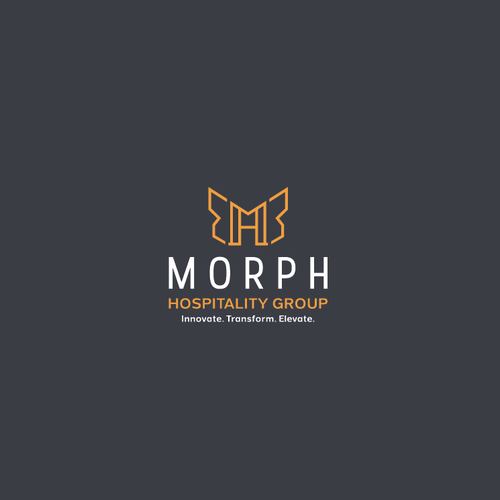 Butterfly logo with the title 'Morph Logo'