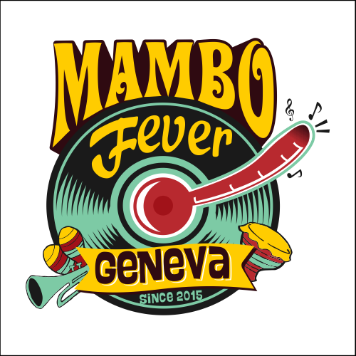 Full-color design with the title 'When Mambo Fever Want A Playfull Logo'