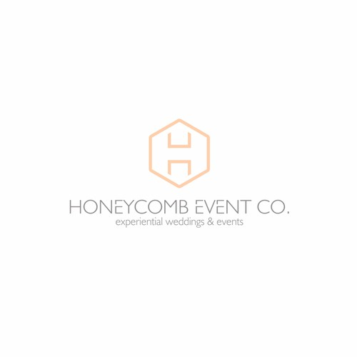 Honeycomb logo with the title 'Honeycomb event co.'