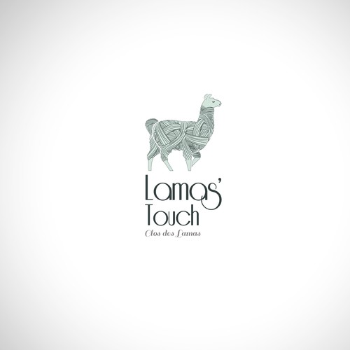 Cotton logo with the title 'Lama's wool'
