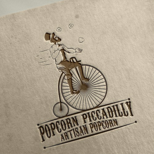 Scanning logo with the title 'Popcorn Piccadilly Artisan Popcorn'