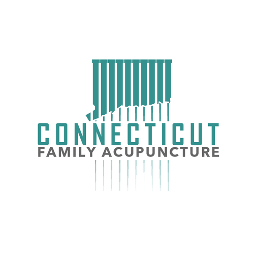 Acupuncture logo with the title 'Connecticut Family Acupuncture'