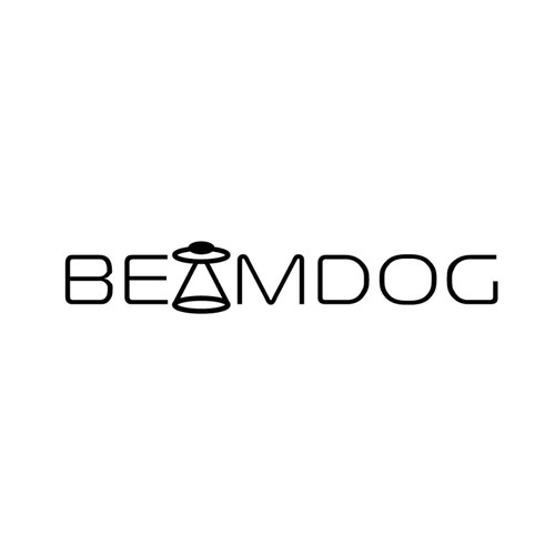 UFO design with the title 'Beamdog'